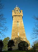 Queen Victoria memorial tower, St Peter Port, Guernsey, Channel Islands, UK