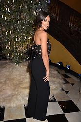 Roxie Nafousi at reception to celebrate the launch of the Claridge's Christmas Tree 2017 at Claridge's Hotel, Brook Street, London England. 28 November 2017.<br /> Photo by Dominic O'Neill/SilverHub 0203 174 1069 sales@silverhubmedia.com