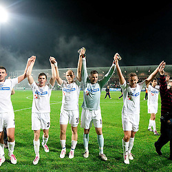 20101030: SLO, Football - Opening match at rebuilded  stadium Bonifika, FC Koper vs NK Olimpija