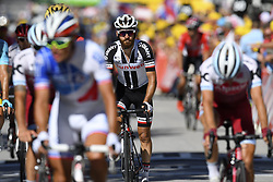 July 4, 2017 - Mondorf Les Bains / Vittel, Luxembourg / France - VITTEL, FRANCE - JULY 4 : GESCHKE Simon (GER) Rider of Team Sunweb during stage 4 of the 104th edition of the 2017 Tour de France cycling race, a stage of 207.5 kms between Mondorf-Les-Bains and Vittel on July 04, 2017 in Vittel, France, 4/07/2017 (Credit Image: © Panoramic via ZUMA Press)