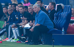 July 29, 2017 - Carson, CA, USA - Carson, CA - Saturday July 29, 2017: Sigi Schmid during a Major League Soccer (MLS) game between the Los Angeles Galaxy and the Seattle Sounders FC at StubHub Center. (Credit Image: © Michael Janosz/ISIPhotos via ZUMA Wire)