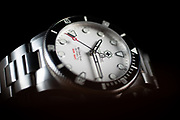 Second Hour Gin Clear Diver Watch Arctic