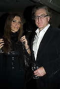 NELLY AND CHRISTOPHER MACKENZIE, Discover Wilton's Music Hall, Fundraising event. Graces alley, Ensign St. London. 5 December 2007. -DO NOT ARCHIVE-© Copyright Photograph by Dafydd Jones. 248 Clapham Rd. London SW9 0PZ. Tel 0207 820 0771. www.dafjones.com.