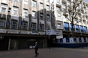 Exterior of the old Brittannia Hotel on 31st March 2021 in Birmingham, United Kingdom.