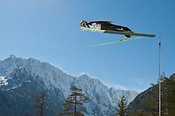 20.03.2011, Planica, Kranjska Gora, SLO, FIS World Cup Finale, Ski Nordisch, Skiflug Einzelbewerb, im Bild Gregor Schlierenzauer (AUT) // Gregor Schlierenzauer (AUT) during individual competition of the Ski Jumping World Cup finals in Planica, Slovenia, 20/3/2011. EXPA Pictures © 2011, PhotoCredit: EXPA/ J. Groder