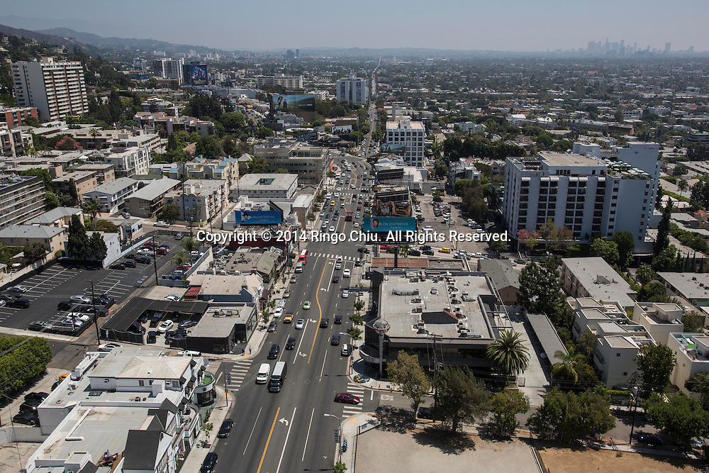 The Sunset Strip. in West Hollywood.<br /> (Photo by Ringo Chiu/PHOTOFORMULA.com)