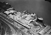 Ackroyd 05425-6 Crown Mills. Aerials. August 4, 1954 (NW Portland waterfront)