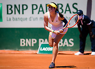 Christina McHale of the United States during the first round of the Roland-Garros 2021, Grand Slam tennis tournament on May 30, 2021 at Roland-Garros stadium in Paris, France - Photo Rob Prange / Spain ProSportsImages / DPPI / ProSportsImages / DPPI