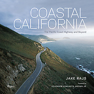 """""""Coastal California: The Pacific Coast Highway and Beyond"""" with an introduction by Governor Edmund Gerald Brown Jr,.  Published by Rizzoli Books<br /> <br /> An unprecedented book showcasing the California coast via the Pacific Coast Highway and beyond.<br /> As America stands to the rest of the world, so stands California to America—a shining promise of endless possibility. California is both dream and reality. Coastal California is for anyone who has felt the lure of a Pacific sunset. From the physical beauty of Monterey to the grandeur of Southern California, photographer Jake Rajs displays his skillful command of capturing the coastline and the Pacific Ocean in every season and the land that is affected by it. Including such locations as Redwood National Park, Point Reyes National Seashore, Sausalito, Huntington Beach, Long Beach, and Pacific Palisades, Coastal California is sure to be the gift book of the year for those who feel the rush of the Pacific Coast Highway and those who just dream of it.<br /> <br /> """"California's coast is no hidden secret, of course, but Jake Rajs' lavish book gives us a new appreciation of its hundreds of miles of grandeur. His 175 radiant photographs range from the wild, rocky shores of Mendocino to the sun-drenched beaches of San Diego.""""<br /> —San Francisco Chronicle<br /> <br /> """"Inspiring, transporting and just plain gorgeous coffee table book… Photographs capturing the stunning views and landscapes of the 840 miles of the California coast, from sandy summer beaches to rocky windswept cliffs.""""<br /> —Los Angeles Times"""