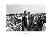 Jack Charlton and the Irish Soccer team welcomed home after Euro 88.<br /> <br /> 19th June 1988<br /> 19/06/1988