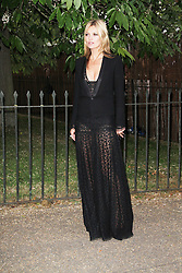 © London News Pictures. 26/06/2013. London, UK. Kate Moss at  The Serpentine Gallery summer party, Kensington Gardens London UK, 26 June 2013, Photo credit: Richard Goldschmidt/LNP