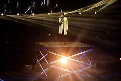 June 4, 2017 - Shenyang, Shenyang, China - Shenyang, CHINA-June 4 2017: (EDITORIAL USE ONLY. CHINA OUT) ..Chinese singer Yoga Lin performs at his concert 'The Great Yoga 2017' in Shenyang, northeast China's Liaoning Province, June 4th, 2017. (Credit Image: © SIPA Asia via ZUMA Wire)
