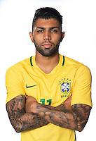 Football Conmebol_Concacaf - <br />Copa America Centenario Usa 2016 - <br />Brazil National Team - Group B - <br />Gabriel Barbosa Almeida