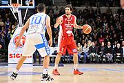 DESCRIZIONE : Campionato 2014/15 Serie A Beko Dinamo Banco di Sardegna Sassari - Giorgio Tesi Group Pistoia<br /> GIOCATORE : Ariel Filloy<br /> CATEGORIA : Palleggio Mani<br /> SQUADRA : Giorgio Tesi Group Pistoia<br /> EVENTO : LegaBasket Serie A Beko 2014/2015 <br /> GARA : Dinamo Banco di Sardegna Sassari - Giorgio Tesi Group Pistoia<br /> DATA : 01/02/2015 <br /> SPORT : Pallacanestro <br /> AUTORE : Agenzia Ciamillo-Castoria/C.Atzori <br /> Galleria : LegaBasket Serie A Beko 2014/2015