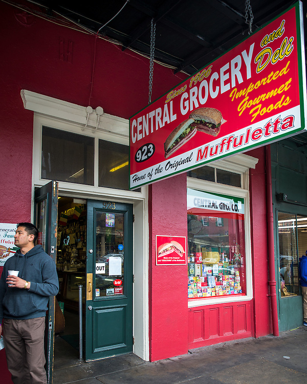 Central Grocery<br /> French Quarter<br /> New Orleans, LA