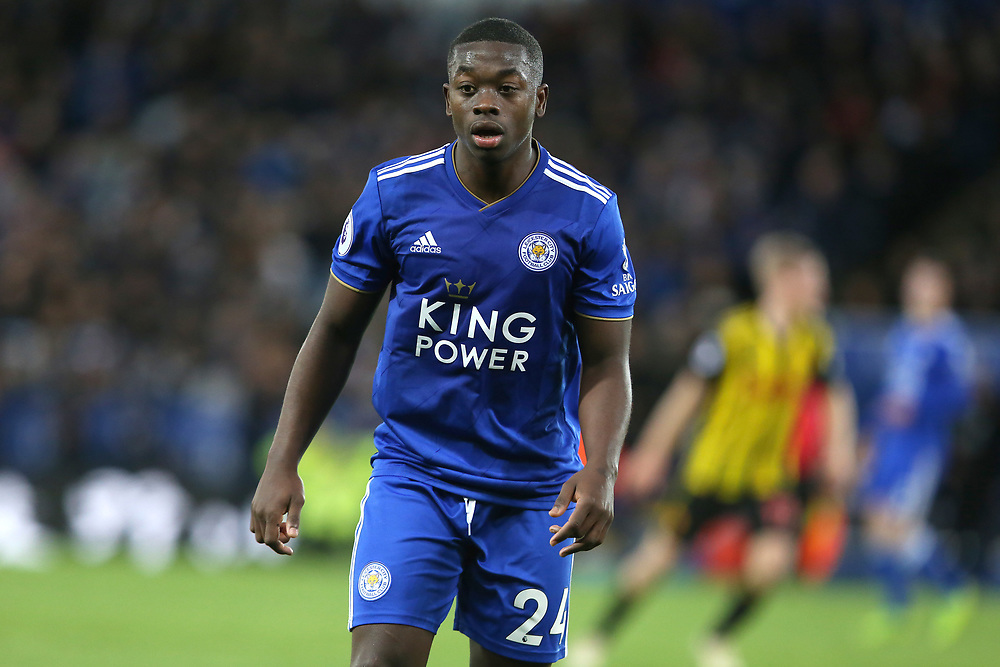 Leicester City's Nampalys Mendy <br /> <br /> Photographer Stephen White/CameraSport<br /> <br /> The Premier League - Leicester City v Watford - Saturday 1st December 2018 - King Power Stadium - Leicester<br /> <br /> World Copyright © 2018 CameraSport. All rights reserved. 43 Linden Ave. Countesthorpe. Leicester. England. LE8 5PG - Tel: +44 (0) 116 277 4147 - admin@camerasport.com - www.camerasport.com