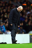 Football - Premier League - Blackburn Rovers vs. Bolton Wanderers<br /> Steve Kean manager of Blackburn Rovers kicks at the grass as his side fail to convert a chance at Ewood Park