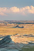 White River Valley Overlook. Badlands National Park South Dakota