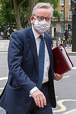 17072020 Michael Gove Wearing Face Mask