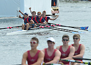 Henley, GREAT BRITAIN. Fawley  Challenge Cup. Sir william Borlase's Grammar School,  Celebrate  winning the final at 2012 Henley Royal Regatta...Sunday  16:57:59  01/07/2012. [Mandatory Credit, Peter Spurrier/Intersport-images]...Rowing Courses, Henley Reach, Henley, ENGLAND . HRR.