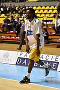 DESCRIZIONE : Torino Lega A 2015-16 Manital Torino - Vanoli Cremona<br /> GIOCATORE : Ndudi Ebi<br /> CATEGORIA : <br /> SQUADRA : Manital Auxilium Torino<br /> EVENTO : Campionato Lega A 2015-2016<br /> GARA : Manital Torino - Vanoli Cremona<br /> DATA : 01/11/2015<br /> SPORT : Pallacanestro<br /> AUTORE : Agenzia Ciamillo-Castoria/M.Matta<br /> Galleria : Lega Basket A 2015-16<br /> Fotonotizia: Torino Lega A 2015-16 Manital Torino - Vanoli Cremona