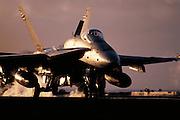 F-18 deck