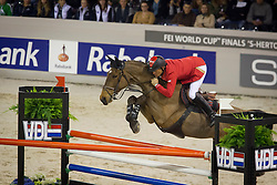 Schwizer Pius (SUI) - Ulysse<br /> Rolex FEI World Cup ™ Jumping Final <br /> 'S Hertogenbosch 2012<br /> © Dirk Caremans