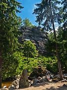 Krucze Skały - skałka w Karkonoszach, Polska<br /> Raven Rocks in Karkonosze, Poland