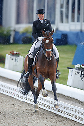 SIEMERS Janina (GER), Daitokai<br /> Hagen - Horses and Dreams meets the Royal Kingdom of Jordan 2018<br /> Einlaufprüfung Nürnberger Burg Pokal<br /> 26 April 2018<br /> www.sportfotos-lafrentz.de/Stefan Lafrentz