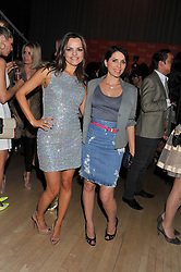 Left to right, MARIA HATZISTEFANIS and SADIE FROST at the 2012 Rodial Beautiful Awards held at The Sanderson Hotel, Berners Street, London on 6th March 2012.
