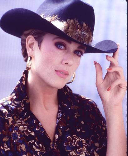 Actress Tonja Walker in NYC 1990's