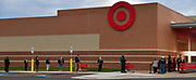 Black Friday Christmas shoppers are socially distanced as they stand in line at the Target store in Fairview Heights waiting for it to open at 7 a.m. on Friday November 27, 2020. <br /> Photo by Tim Vizer