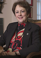 Former University of Nebraska at Omaha Chancellor Nancy Belck.  Belck was forced to resign due to financial irregularities.<br /> photo by chris machian