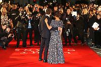 Alicia Vikander, Michael Fassbender, The Light Between Oceans - UK film premiere, Curzon Mayfair, London UK, 19 October 2016, Photo by Richard Goldschmidt