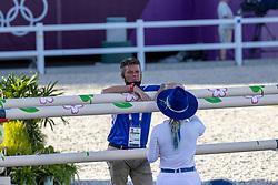 Dubbeldam Jeroen, NED, Bond Ashlee, ISR<br /> Olympic Games Tokyo 2021<br /> © Hippo Foto - Dirk Caremans<br /> 04/08/2021