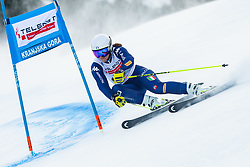 Elena Curtoni (ITA) during Ladies' Giant Slalom at 57th Golden Fox event at Audi FIS Ski World Cup 2020/21, on January 17, 2021 in Podkoren, Kranjska Gora, Slovenia. Photo by Vid Ponikvar / Sportida