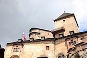 Orava Castle, Oravský Podzámok, Slovakia.