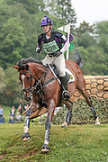 MISTER MACCONDY ridden by Jodie Stokes at Bramham International Horse Trials 2016 at  at Bramham Park, Bramham, United Kingdom on 11 June 2016. Photo by Mark P Doherty.