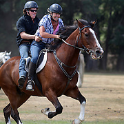 during the 50th Anniversary Glenorchy Race meeting. The races, which originally started in the 1920's, were resurrected in 1962 and have been run by local farmers and the rugby club on the first Saturday after New Years Day ever since. Glenorchy, Otago, New Zealand. 7th January 2012
