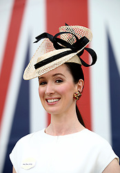 Jana Lang from London during day two of Royal Ascot at Ascot Racecourse.