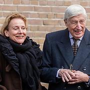 NLD/Rotterdam/20180220 - Herdenkingsdienst Ruud Lubbers, Ank Bijleveld, Dries van Agt