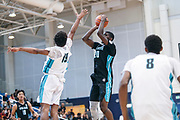 THOUSAND OAKS, CA Sunday, August 12, 2018 - Nike Basketball Academy. Patrick Williams 2019 #20 of West Charlotte HS rises for a shot. <br /> NOTE TO USER: Mandatory Copyright Notice: Photo by John Lopez / Nike