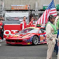 #61 Ferrari 458 Italia, Team AF Corse-Waltrip, Drivers: Kauffmen/Aguas/Vickers, Le Mans 24H, 2012