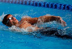 Jure Vidmar at swimming competition of EYOF 2007 (European Youth Olympic Festival) in Belgrade, 21. - 28. July 2007,  Tasmajdan pool, Belgrade, Serbia. (Photo by Vid Ponikvar / Sportida)