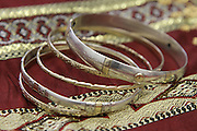 Antique tradition golden bracelets jewellery Tripoli, Libya.