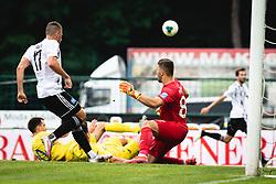 during football match between NŠ Mura and NK Domžale in 30th Round of Prva liga Telekom Slovenije 2019/20, on June 28, 2020 in Fazanerija, Murska Sobota, Slovenia. Photo by Blaž Weindorfer / Sportida