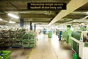 Productiehal van schoenenfabriek Van Bommel