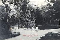 Zagreb (Croatie) Tuškanac : Vila Krešić. <br /> <br /> ImpresumZagreb : Naklada Jul. Hühna, [190-].<br /> Materijalni opis1 razglednica : tisak ; 8,8 x 13,7 cm.<br /> NakladnikJulije Hühn<br /> Mjesto izdavanjaZagreb<br /> Vrstavizualna građa • razglednice<br /> ZbirkaGrafička zbirka NSK • Zbirka razglednica<br /> Formatimage/jpeg<br /> PredmetZagreb –– Tuškanac<br /> SignaturaRZG-TUSK-3<br /> Obuhvat(vremenski)20. stoljeće<br /> NapomenaRazglednica je putovala.<br /> PravaJavno dobro<br /> Identifikatori000954258<br /> NBN.HRNBN: urn:nbn:hr:238:808384 <br /> <br /> Izvor: Digitalne zbirke Nacionalne i sveučilišne knjižnice u Zagrebu