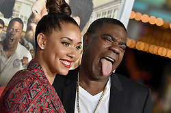 Tracy Morgan, Megan Wollover attend the premiere of Warner Bros. Pictures' 'Fist Fight' on February 13, 2017 in Los Angeles, CA, USA. Photo by Lionel Hahn/ABACAPRESS.COM