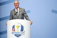 Jim Furyk (Captain) during the Opening Ceremony of Ryder Cup 2018, at Golf National in Saint-Quentin-en-Yvelines, France, September 27, 2018 - Photo Philippe Millereau / KMSP / ProSportsImages / DPPI